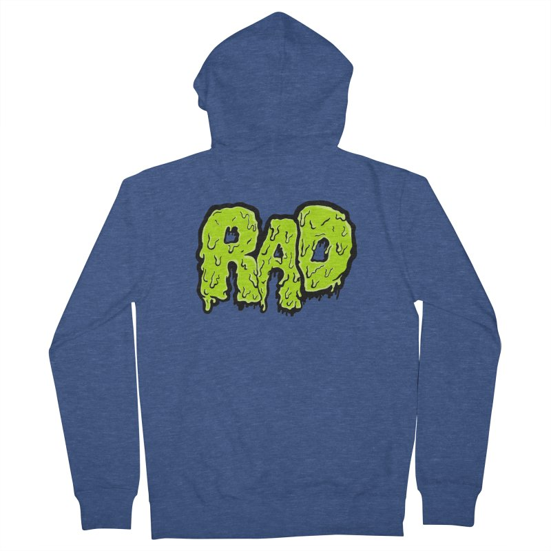 Rad Men's Zip-Up Hoody by Greg Gosline Design Co.