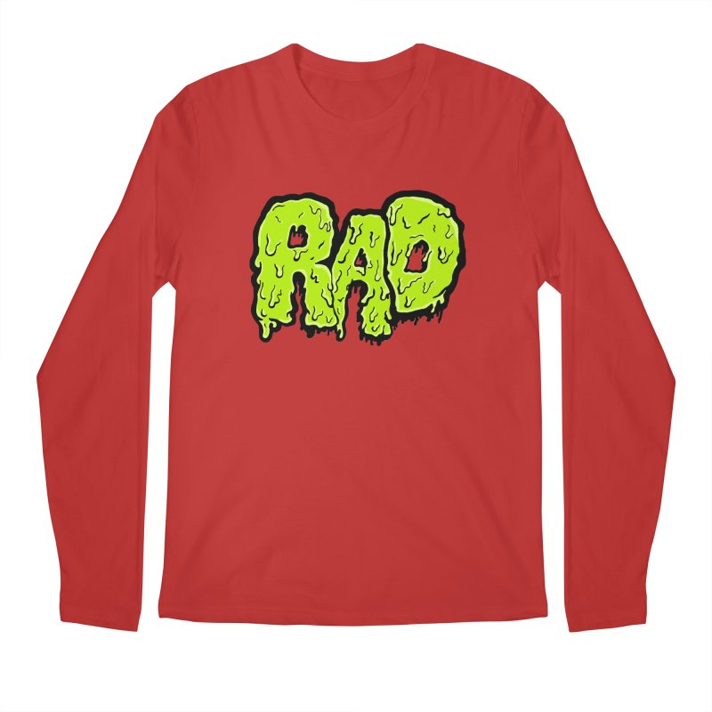 Rad Men's Longsleeve T-Shirt by Greg Gosline Design Co.