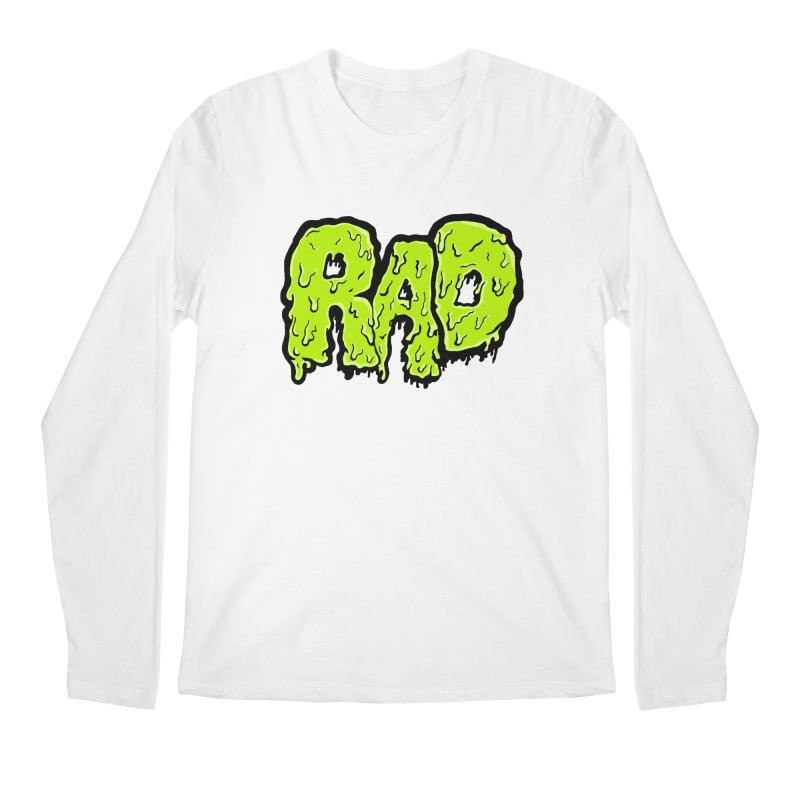Rad Men's Regular Longsleeve T-Shirt by Greg Gosline Design Co.