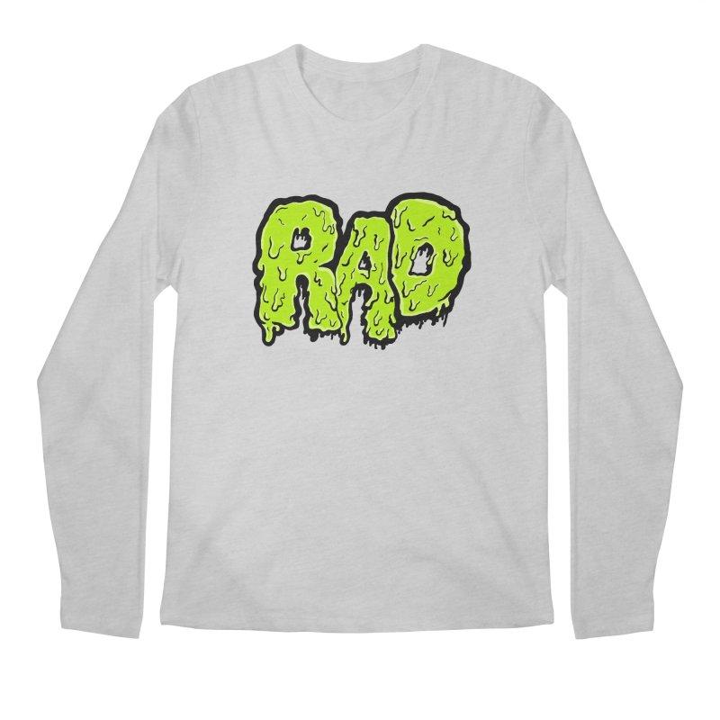 Rad Men's Regular Longsleeve T-Shirt by Greg Gosline Design Co.