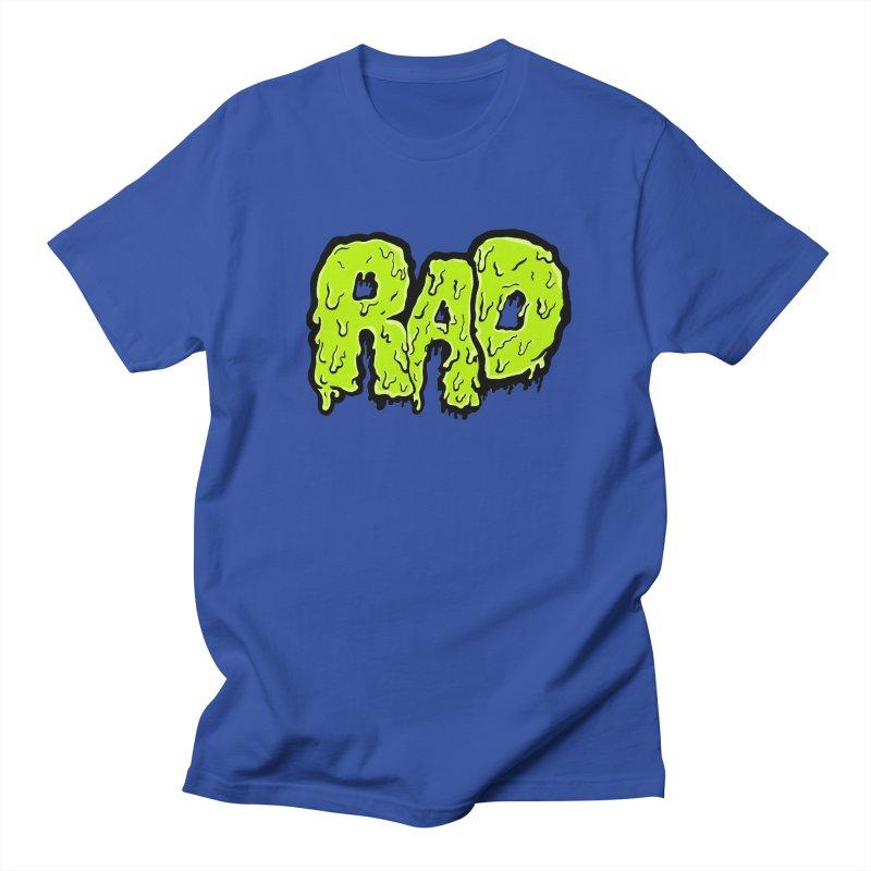 Rad Men's T-shirt by Greg Gosline Design Co.