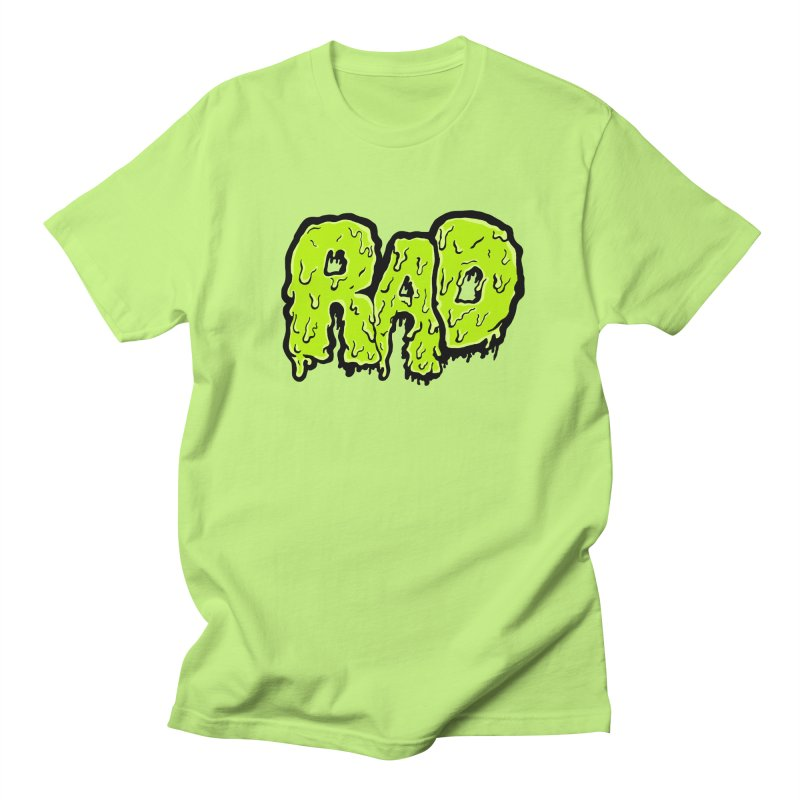Rad Women's Regular Unisex T-Shirt by Greg Gosline Design Co.