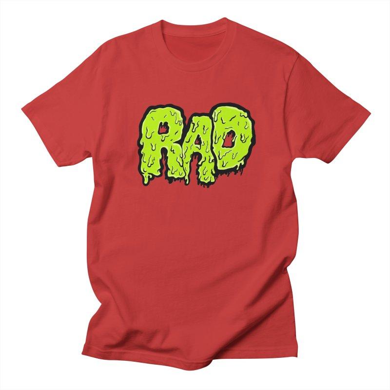 Rad Men's Regular T-Shirt by Greg Gosline Design Co.