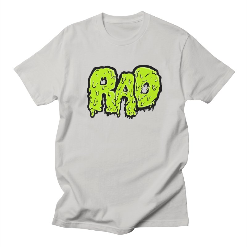 Rad Women's Regular Unisex T-Shirt by Greg Gosline Design Co.