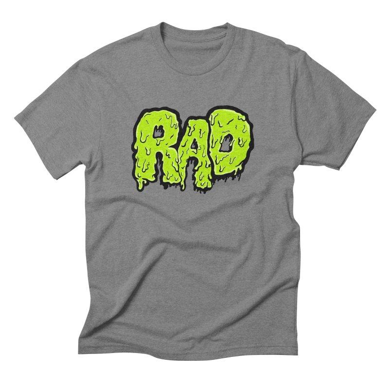 Rad Men's Triblend T-Shirt by Greg Gosline Design Co.