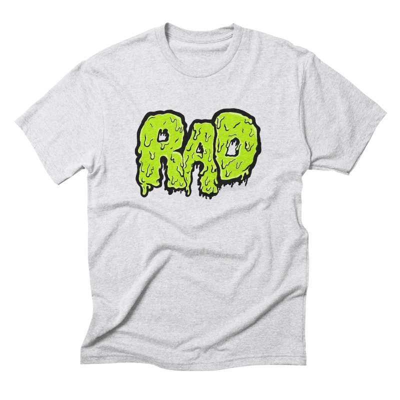 Rad Men's Triblend T-Shirt by Greg Gosline Design Co.