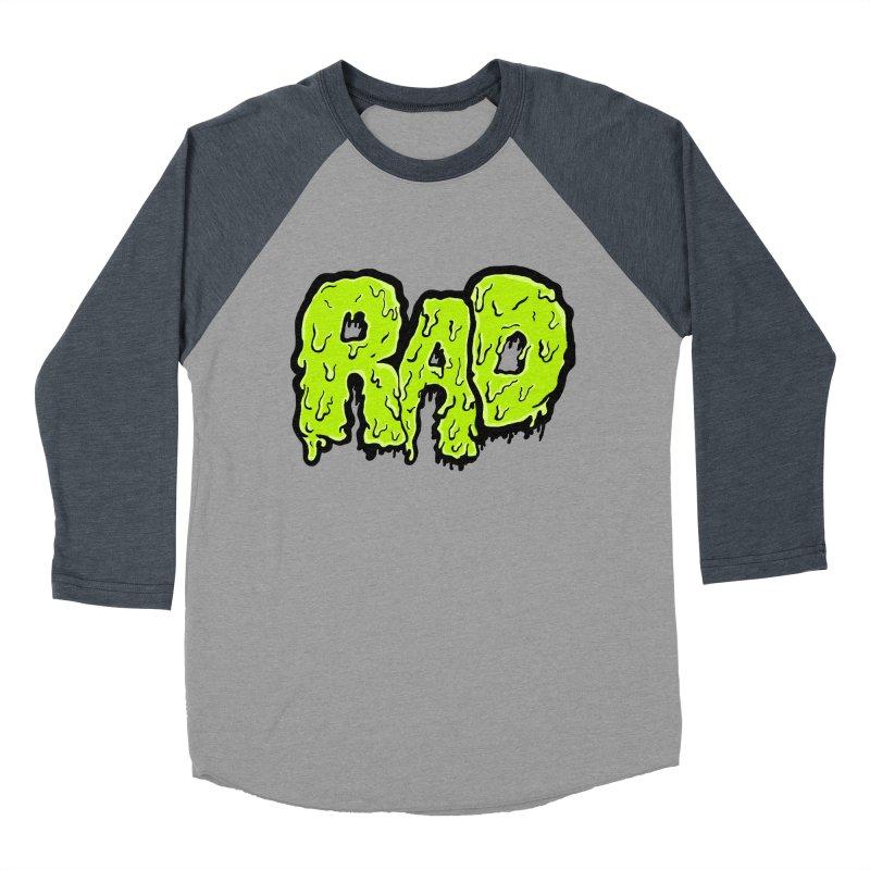 Rad Women's Baseball Triblend T-Shirt by Greg Gosline Design Co.