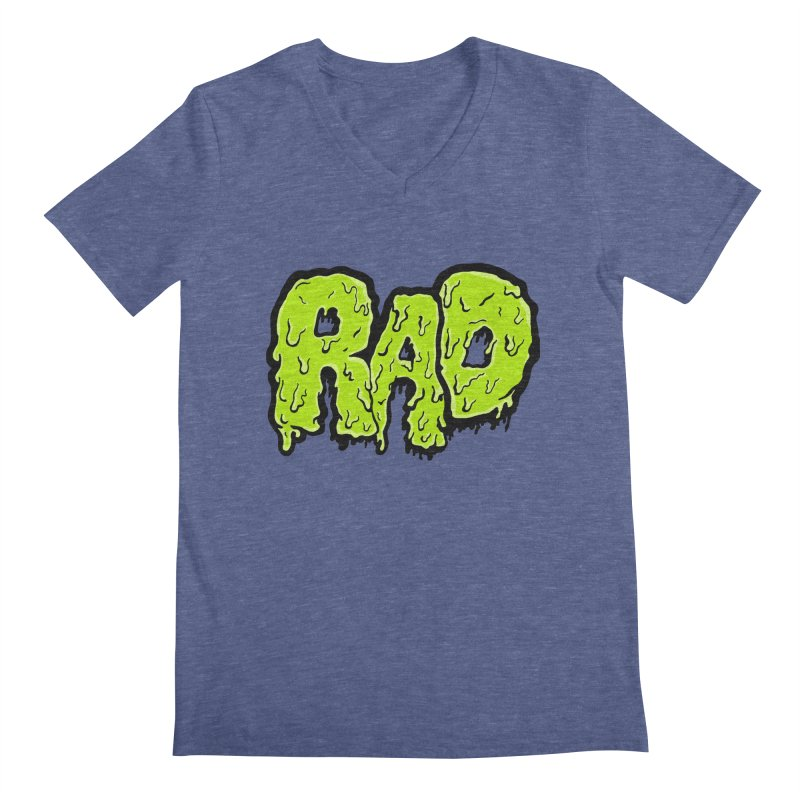 Rad Men's V-Neck by Greg Gosline Design Co.