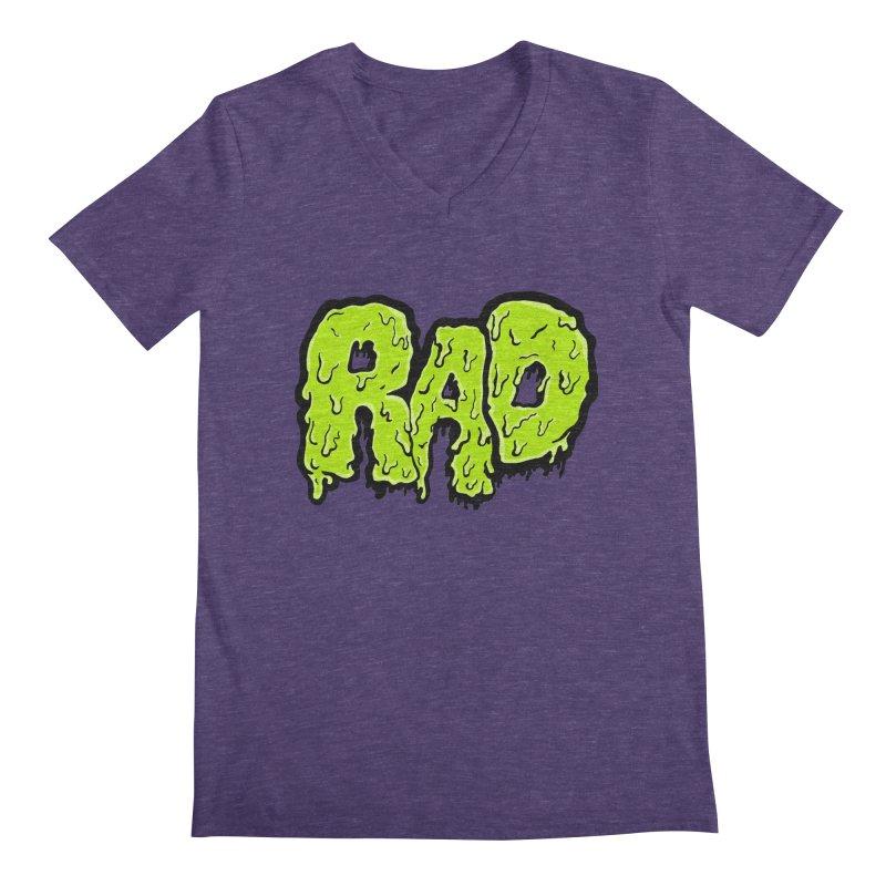Rad Men's V-Neck by Greg Gosline Design Co.