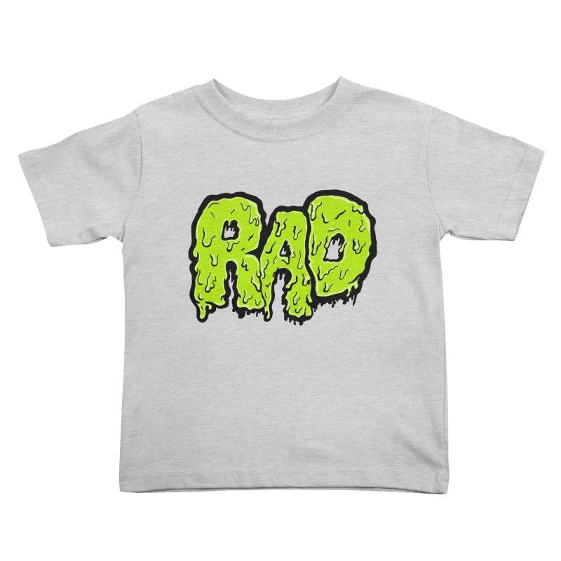 Rad Kids Toddler T-Shirt by Greg Gosline Design Co.