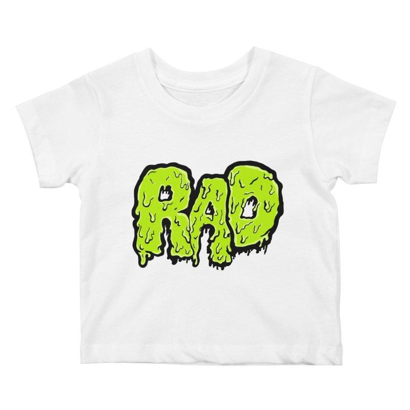 Rad Kids Baby T-Shirt by Greg Gosline Design Co.