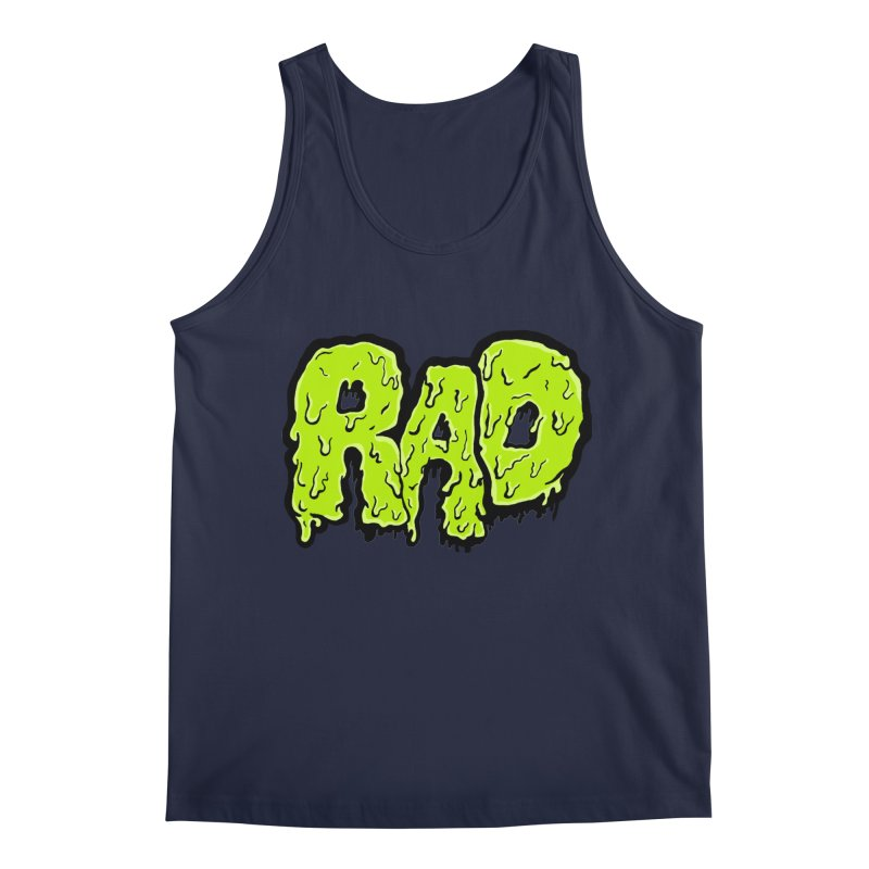 Rad Men's Regular Tank by Greg Gosline Design Co.