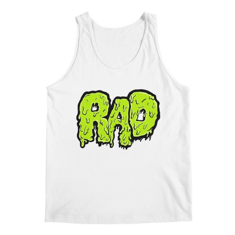 Rad Men's Tank by Greg Gosline Design Co.