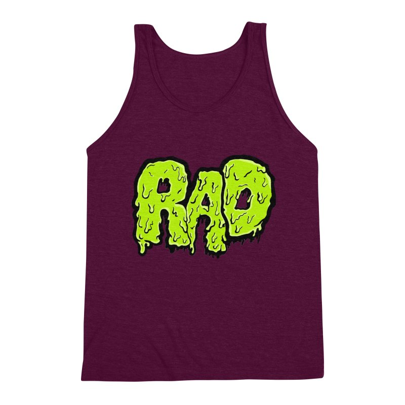 Rad Men's Triblend Tank by Greg Gosline Design Co.