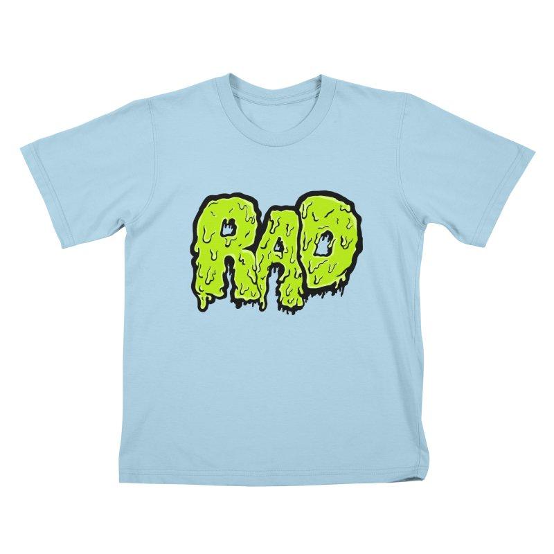 Rad Kids T-Shirt by Greg Gosline Design Co.