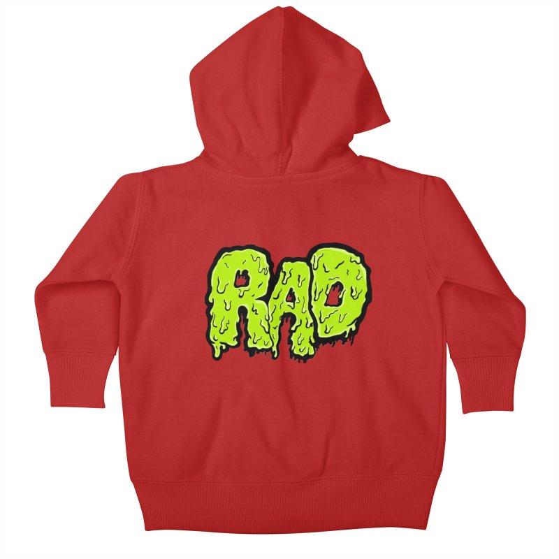 Rad Kids Baby Zip-Up Hoody by Greg Gosline Design Co.