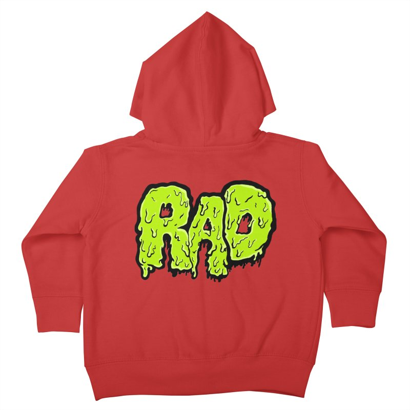 Rad Kids Toddler Zip-Up Hoody by Greg Gosline Design Co.