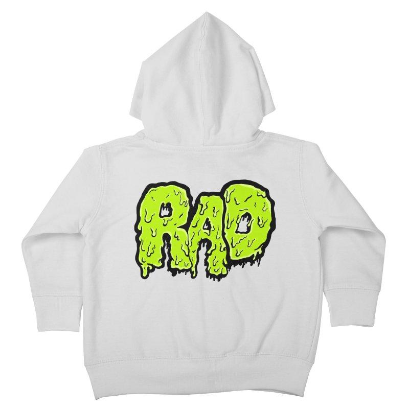 Rad Kids Toddler Zip-Up Hoody by Greg Gosline Design Co.