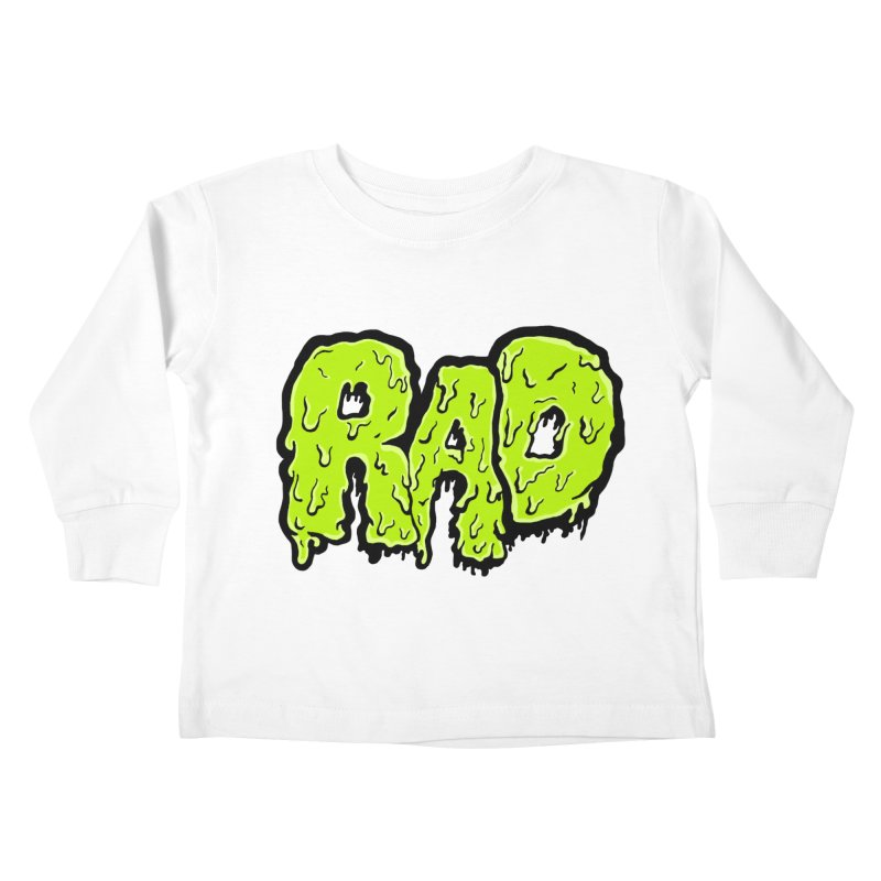 Rad Kids Toddler Longsleeve T-Shirt by Greg Gosline Design Co.