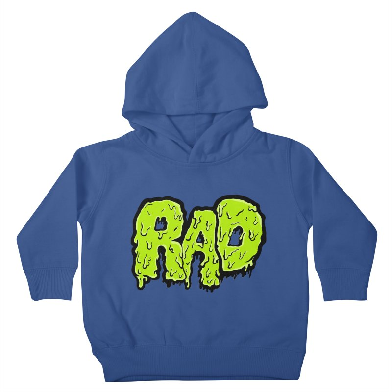Rad Kids Toddler Pullover Hoody by Greg Gosline Design Co.