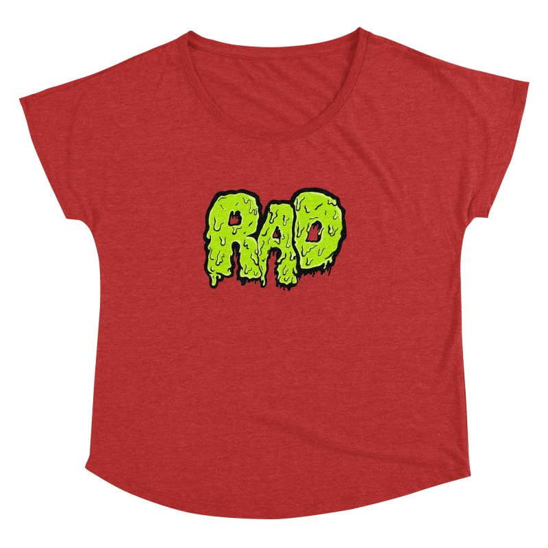 Rad Women's Dolman by Greg Gosline Design Co.