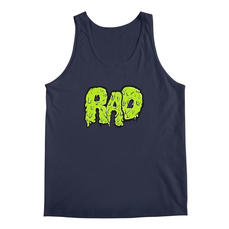Rad Men's Regular Tank by Greg Gosline Design Co.
