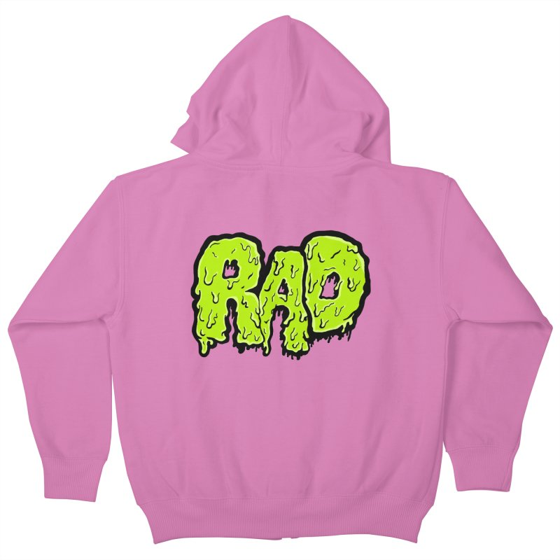 Rad Kids Zip-Up Hoody by Greg Gosline Design Co.