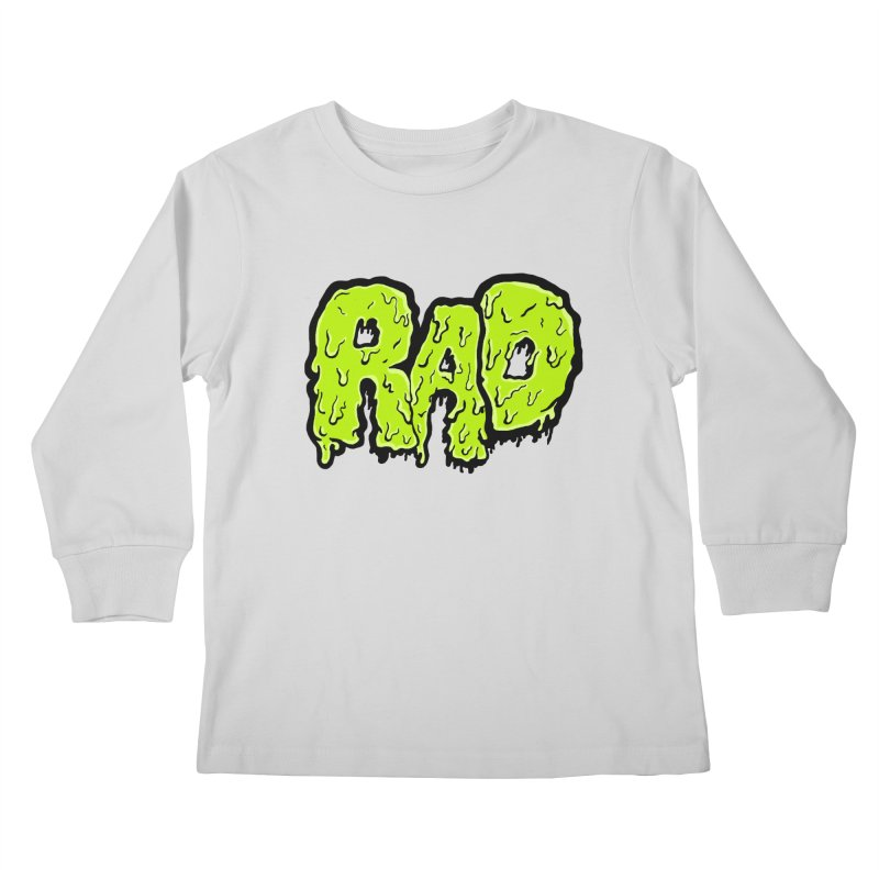 Rad Kids Longsleeve T-Shirt by Greg Gosline Design Co.