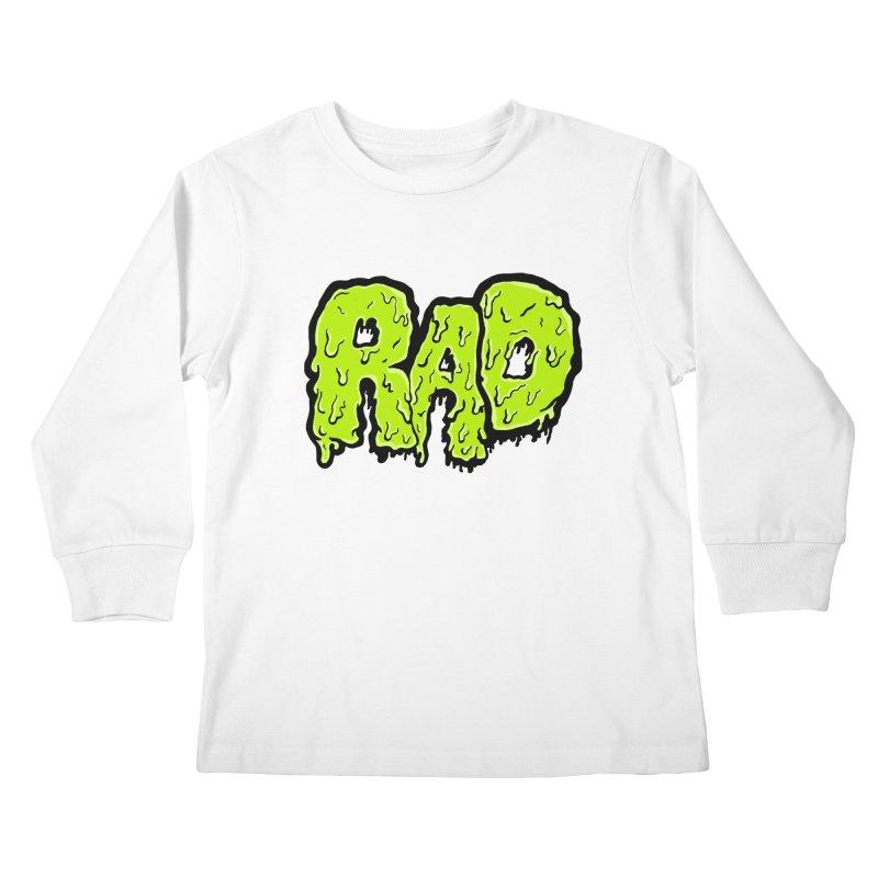 Rad Kids Longsleeve T-Shirt by Greg Gosline Design Co.