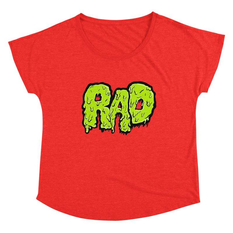 Rad Women's Scoop Neck by Greg Gosline Design Co.