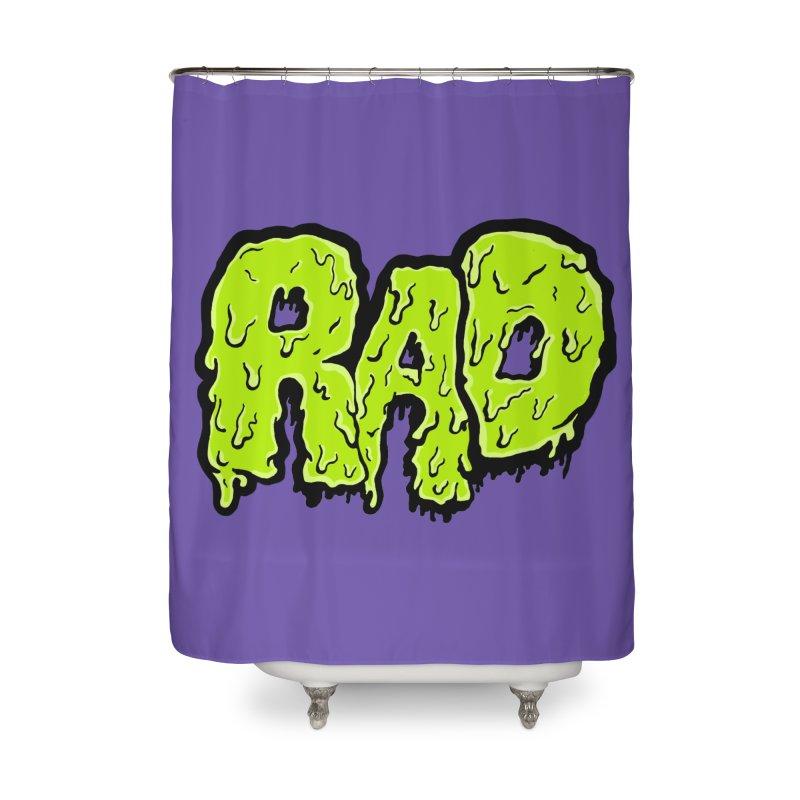 Rad Home Shower Curtain by Greg Gosline Design Co.