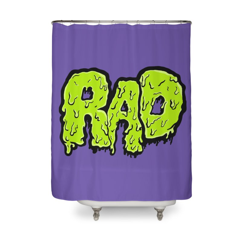 Rad Home Shower Curtain by Greg Gosline Design Co.