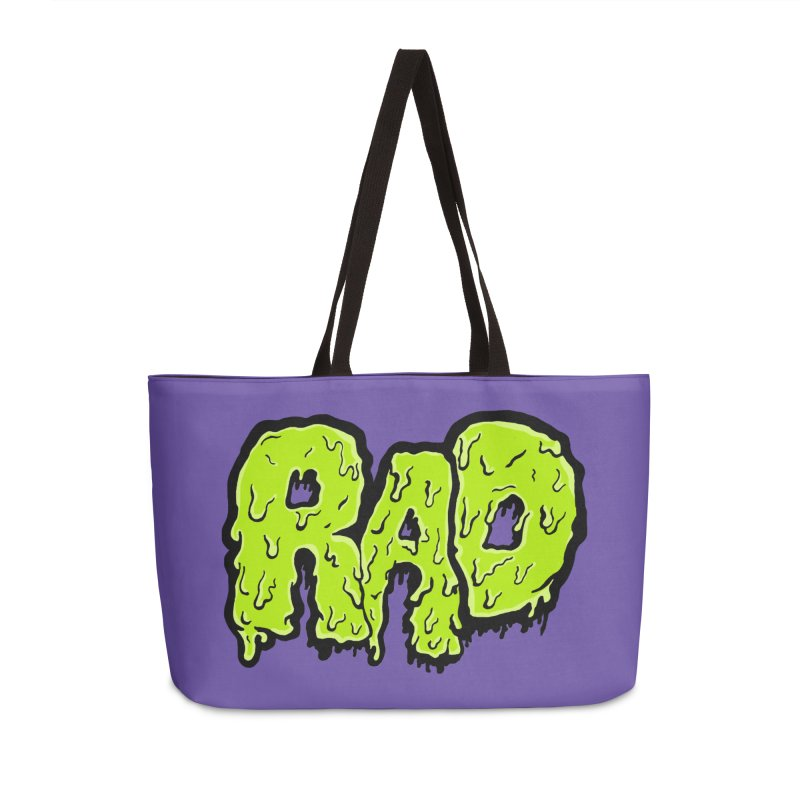Rad Accessories Weekender Bag Bag by Greg Gosline Design Co.