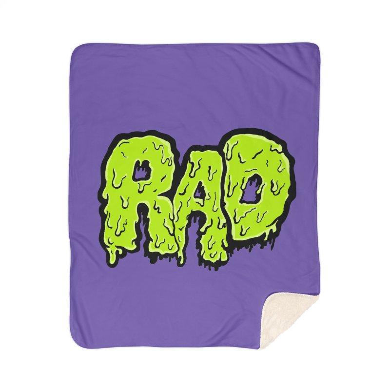 Rad Home Sherpa Blanket Blanket by Greg Gosline Design Co.