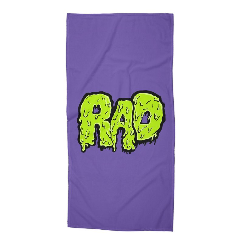 Rad Accessories Beach Towel by Greg Gosline Design Co.