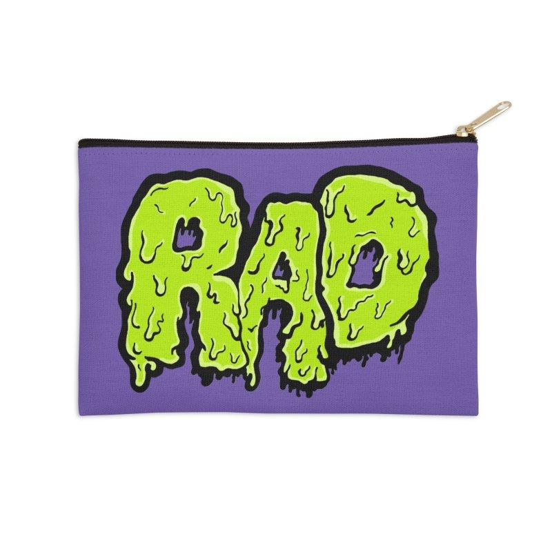 Rad Accessories Zip Pouch by Greg Gosline Design Co.