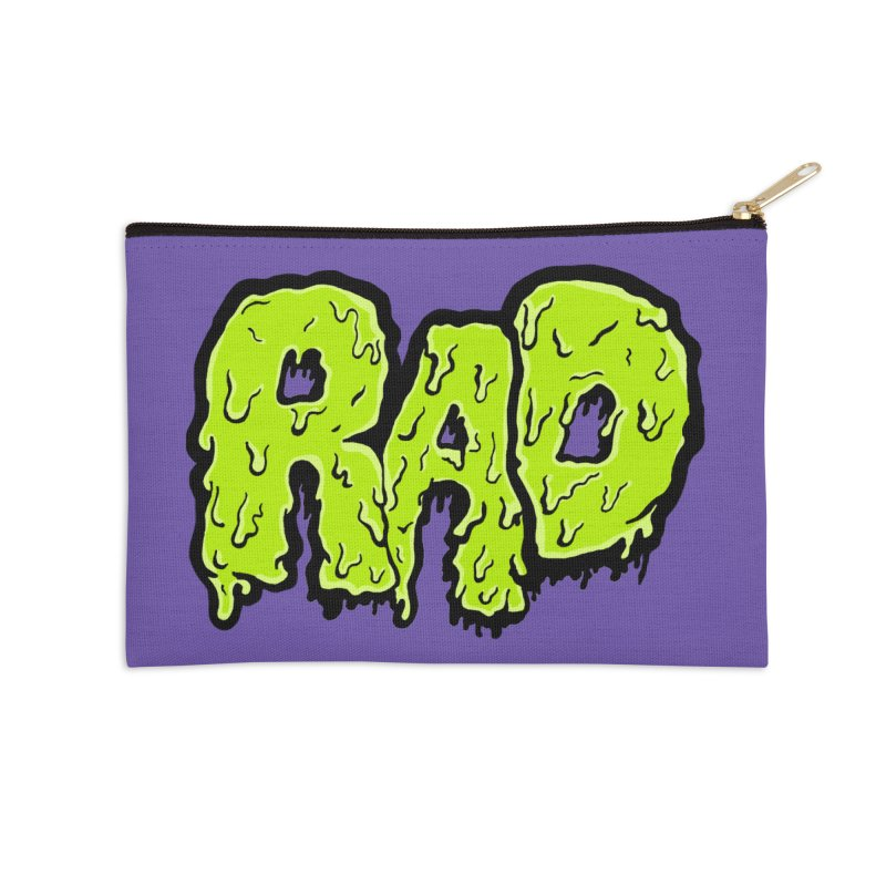 Rad Accessories Zip Pouch by Greg Gosline Design Co.