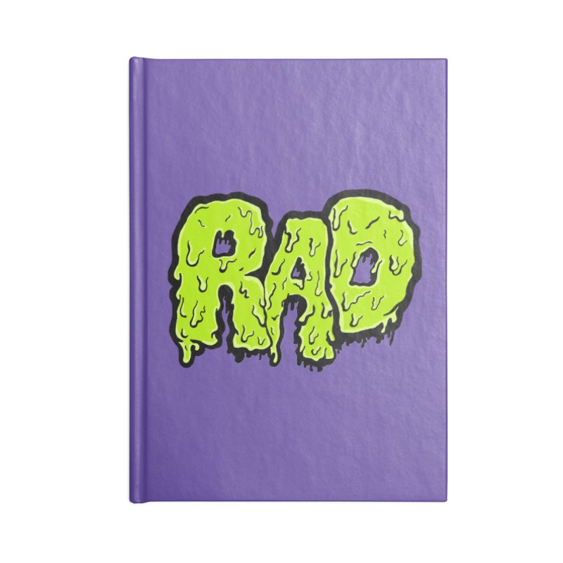Rad Accessories Lined Journal Notebook by Greg Gosline Design Co.