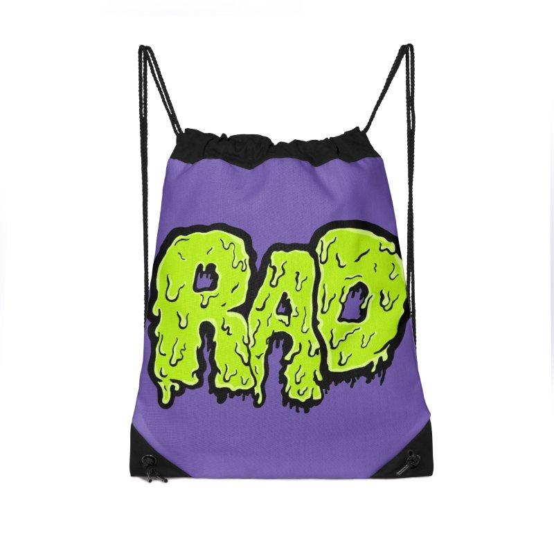 Rad Accessories Drawstring Bag Bag by Greg Gosline Design Co.