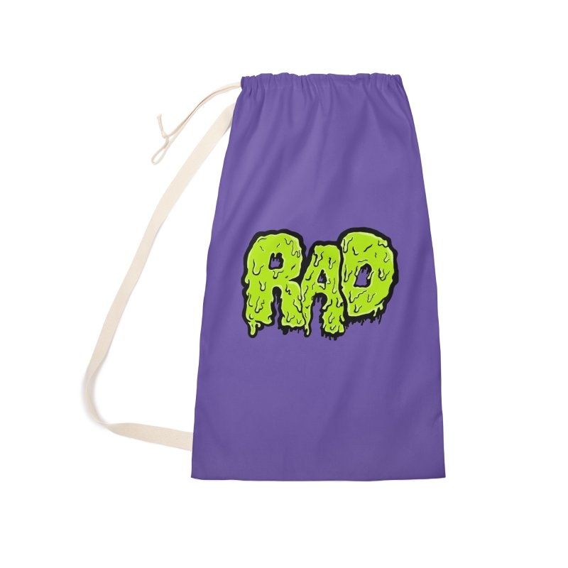 Rad Accessories Laundry Bag Bag by Greg Gosline Design Co.