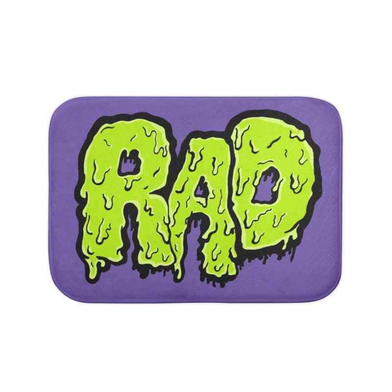 Rad Home Bath Mat by Greg Gosline Design Co.
