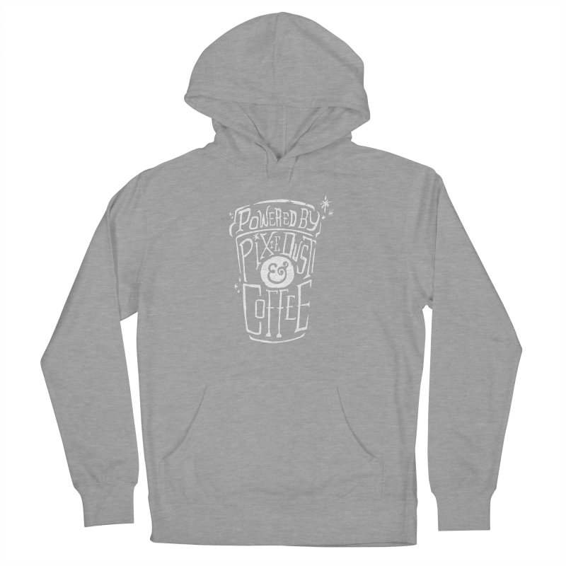 Powered By Pixie Dust & Coffee Men's Pullover Hoody by Greg Gosline Design Co.