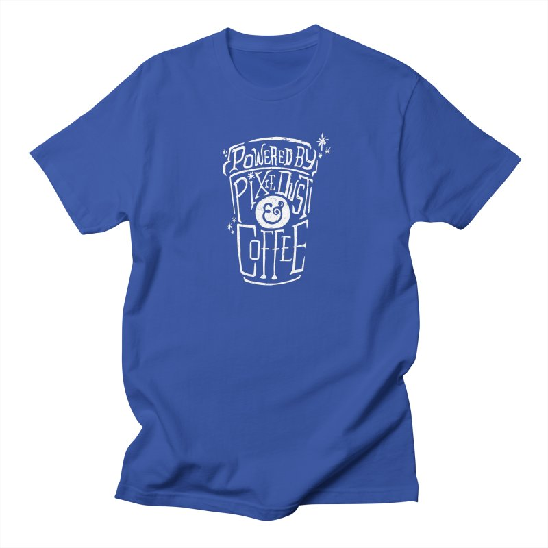 Powered By Pixie Dust & Coffee Men's T-Shirt by Greg Gosline Design Co.