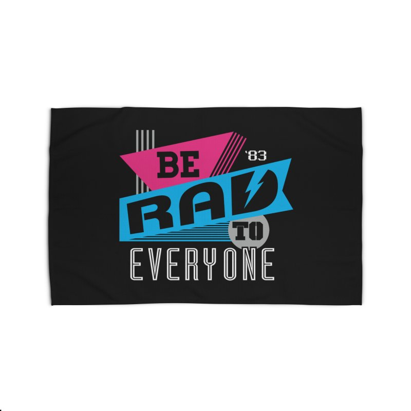 Be Rad To Everyone Home Rug by Greg Gosline Design Co.