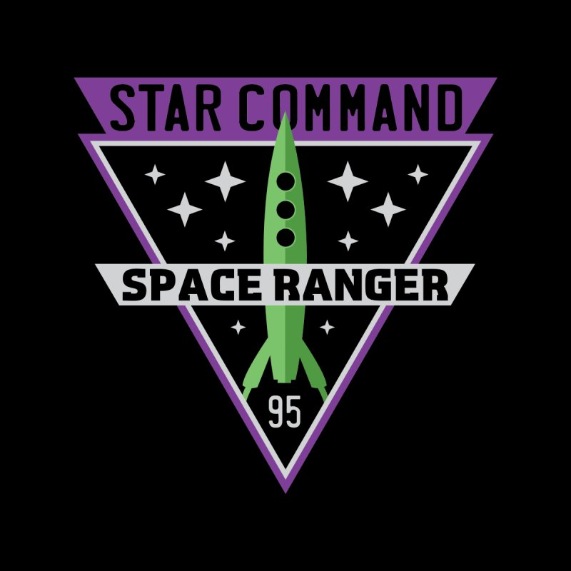 Star Command Men's T-Shirt by Greg Gosline Design Co.