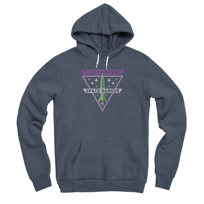 Star Command Men's Sponge Fleece Pullover Hoody by Greg Gosline Design Co.