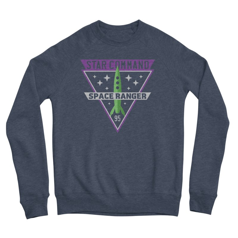 Star Command Men's Sponge Fleece Sweatshirt by Greg Gosline Design Co.