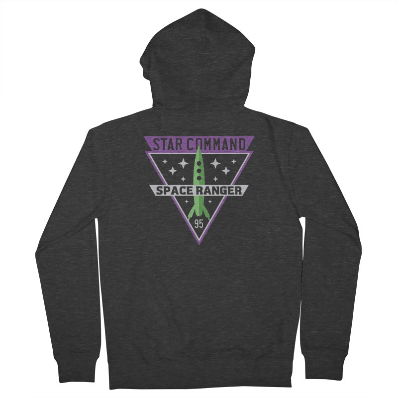 Star Command Men's French Terry Zip-Up Hoody by Greg Gosline Design Co.