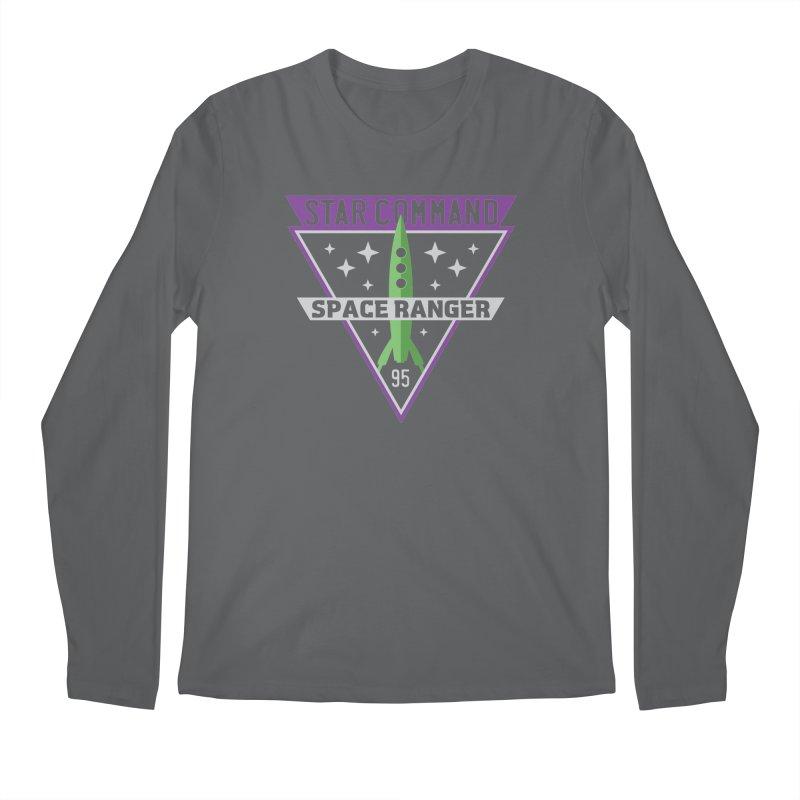 Star Command Men's Longsleeve T-Shirt by Greg Gosline Design Co.