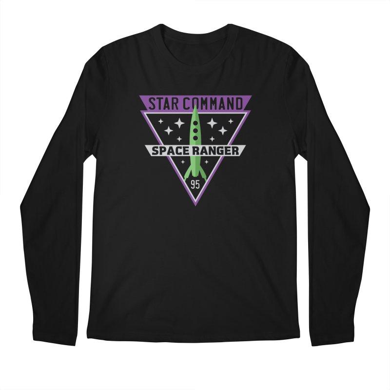 Star Command Men's Regular Longsleeve T-Shirt by Greg Gosline Design Co.